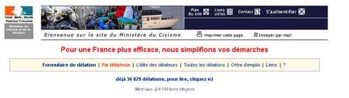 sos delation gouv.fr