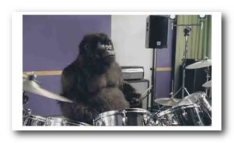 Phil Collins Gorilla Ad Cadburys Dairy Milk commercial tv