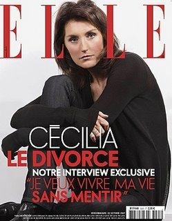 Nicolas Sarkozy avec Carole Bouquet cecilia divorced