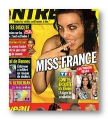 Entrevue: Miss France 2008 (Valérie Bègue) nue