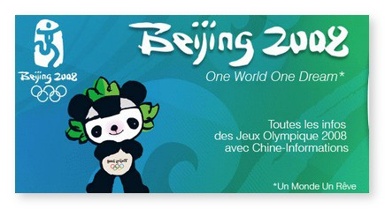 "La chanson Olympique Officielle ""Welcome to Beijing"""